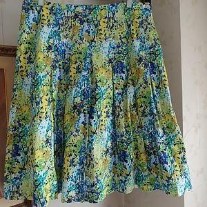 Stylish Multicolor Talbots skirt size 12